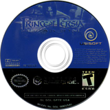 Prince of Persia: The Sands of Time GameCube disc (GPTE41)