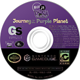 Dora the Explorer: Journey to the Purple Planet GameCube disc (GQLE9G)