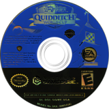 Harry Potter: Quidditch World Cup GameCube disc (GQWE69)