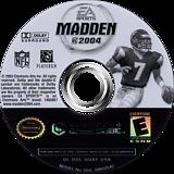 Madden NFL 2004 GameCube disc (GQXE69)
