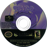 Spyro:Enter the Dragonfly GameCube disc (GS8E7D)