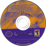 Star Fox Adventures GameCube disc (GSAE01)