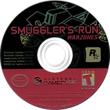 Smuggler's Run: Warzones GameCube disc (GSRE7S)