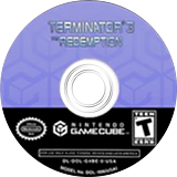 Terminator 3: The Redemption GameCube disc (GT6E70)