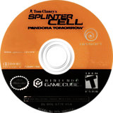 Tom Clancy's Splinter Cell: Pandora Tomorrow GameCube disc (GT7E41)