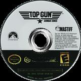 Top Gun: Combat Zones GameCube disc (GTGE60)