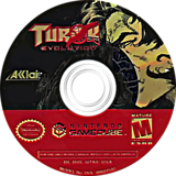Turok Evolution GameCube disc (GTKE51)
