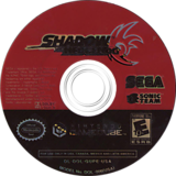 Shadow the Hedgehog GameCube disc (GUPE8P)