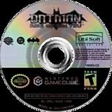 Batman: Rise of Sin Tzu GameCube disc (GUZE41)