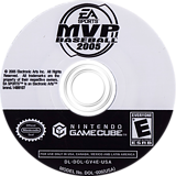 MVP Baseball 2005 GameCube disc (GV4E69)