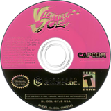Viewtiful Joe GameCube disc (GVJE08)