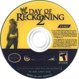WWE Day of Reckoning 2 GameCube disc (GW2E78)
