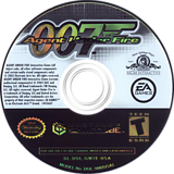 James Bond 007 in Agent Under Fire GameCube disc (GW7E69)
