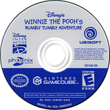 Winnie The Pooh Rumbly Tumbly Adventures GameCube disc (GWHE41)