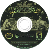 Wario World GameCube disc (GWWE01)