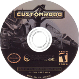 Custom Robo GameCube disc (GXCE01)