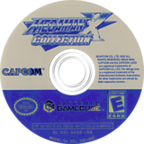 Mega Man X Collection GameCube disc (GXGE08)