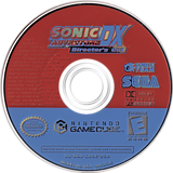 Sonic Adventure DX: Director's Cut GameCube disc (GXSE8P)