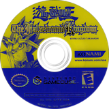 Yu-Gi-Oh! The Falsebound Kingdom GameCube disc (GYFEA4)