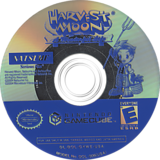 Harvest Moon: A Wonderful Life GameCube disc (GYWEE9)