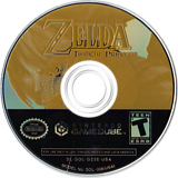 The Legend of Zelda: Twilight Princess GameCube disc (GZ2E01)