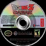 Dragon Ball Z: Sagas GameCube disc (GZEE70)
