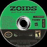 Zoids Battle Legends GameCube disc (GZSE70)
