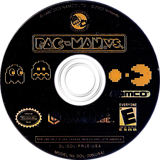 Pac-Man vs. GameCube disc (PRJE01)