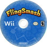 FlingSmash Wii disc (R22E01)