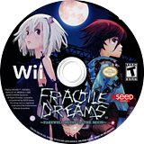 Fragile Dreams: Farewell Ruins of the Moon Wii disc (R2GEXJ)