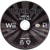 Rock Band: Metal Track Pack Wii disc (R37E69)