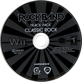 Rock Band Track Pack: Classic Rock Wii disc (R3ZE69)