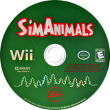 SimAnimals Wii disc (R4AE69)