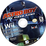 Astro Boy: The Video Game Wii disc (R56EG9)