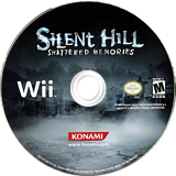 Silent Hill: Shattered Memories Wii disc (R5WEA4)