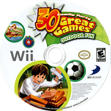 Family Party: 30 Great Games Outdoor Fun Wii disc (R63EG9)