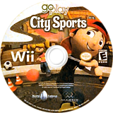 Go Play City Sports Wii disc (R68E5G)