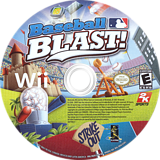 Baseball Blast! Wii disc (R6IE54)