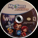 MySims Agents Wii disc (R6QE69)