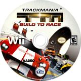 TrackMania: Build to Race Wii disc (R6REJH)