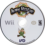 Army Rescue Wii disc (R7HE6K)