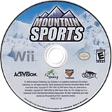 Mountain Sports Wii disc (R7WE52)
