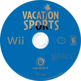 Vacation Sports Wii disc (R8SE41)