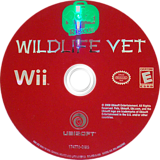 Petz Rescue: Wildlife Vet Wii disc (R8VE41)