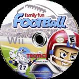 Family Fun Football Wii disc (R97E9B)