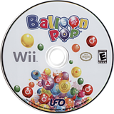 Balloon Pop Wii disc (RB2E6K)