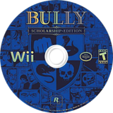 Bully: Scholarship Edition Wii disc (RB7E54)