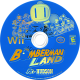 Bomberman Land Wii disc (RBBE18)