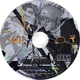 Bleach: Shattered Blade Wii disc (RBLE8P)