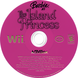 Barbie as The Island Princess Wii disc (RBVE52)